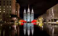 Temple Square Christmas 2015