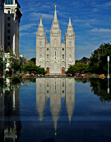 Salt Lake Temple August 2009