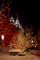 Temple Square Christmas 2009
