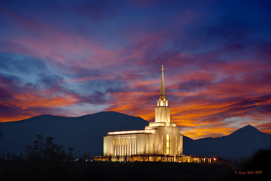 Oquirrh Mountain Temple Oct 2009